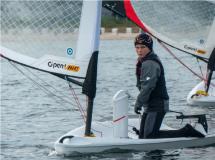 Freddi erneut bester deutscher Open Skiff Segler