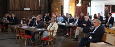 Der Vorstand unter Vorsitz von Lutz Kleinfeldt berichtete aus dem vergangenen Jahr. | (c) LYC
