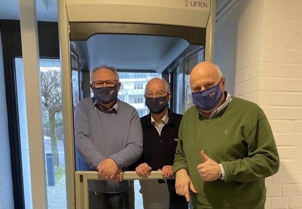 Michael Grasse, Dr. Eberhard Lassen, Frank Schärffe   (c) Sparkasse zu Lübeck AG