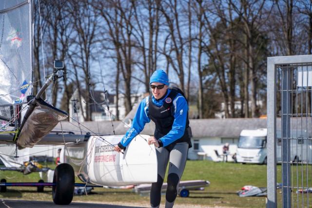 Jugendsegler als F18 Nachwuchs | (c) Dan Burdon